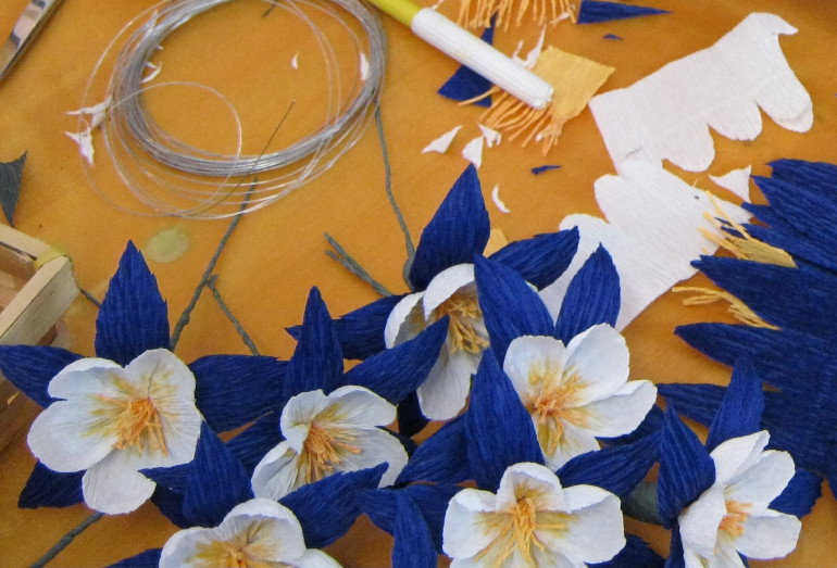 11_Paper Flowers by Judy Darley