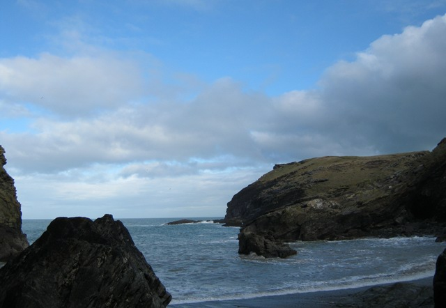 Tintagel beach1