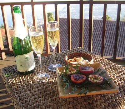 Choupana champagne
