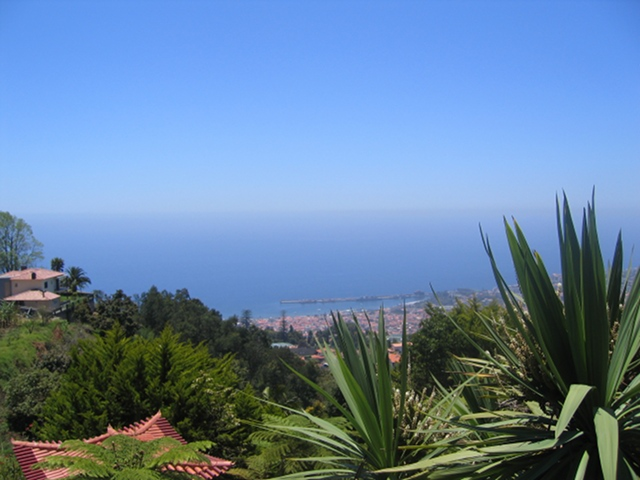 View from Monte Palace Tropical Gardens, Madeira