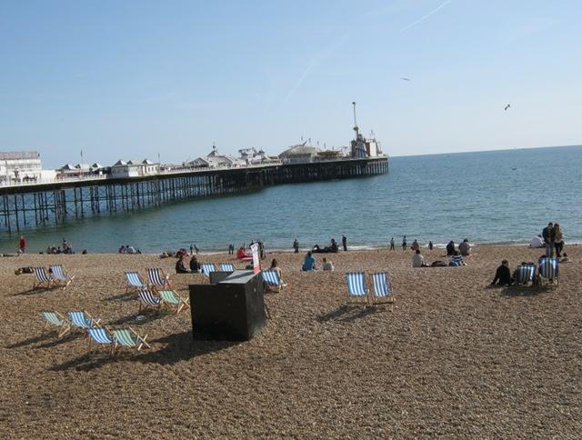 Brighton beach cr Judy Darley