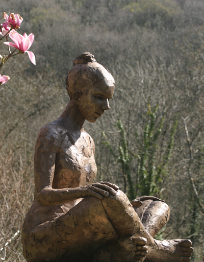 Carol Peace sculpture
