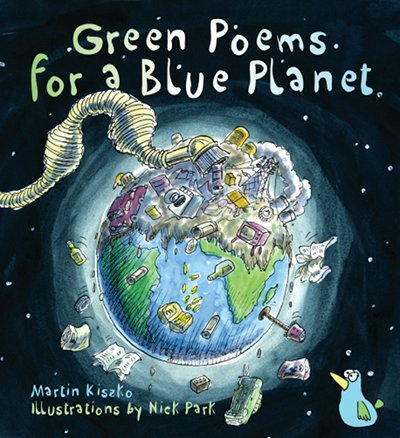 Green poems for a Blue Planet cover