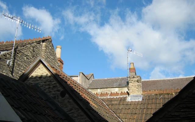 Frome rooftops