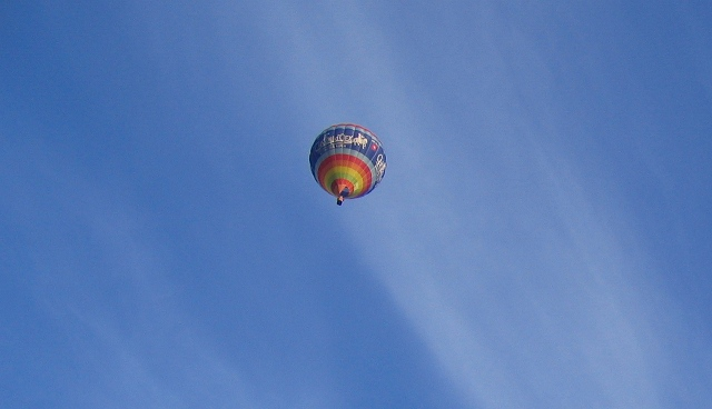 Hot air balloon cr Judy Darley