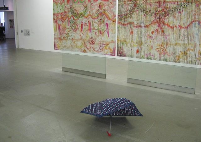 Umbrella in gallery cr Judy Darley
