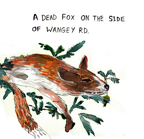 A dead fox cr Louise Boulter