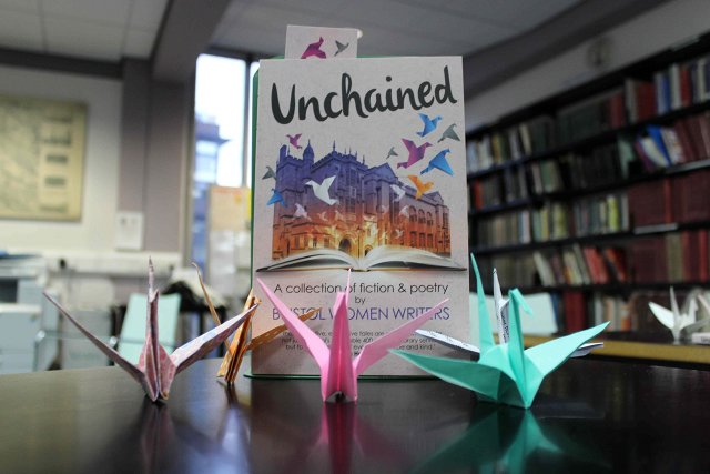 Unchained book and birds