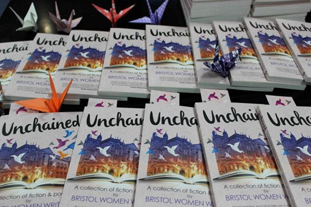 Unchained cover multiple books