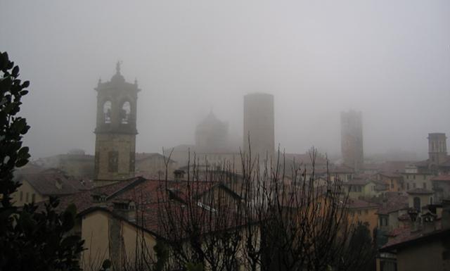 Bergamo in mist cr Judy Darley