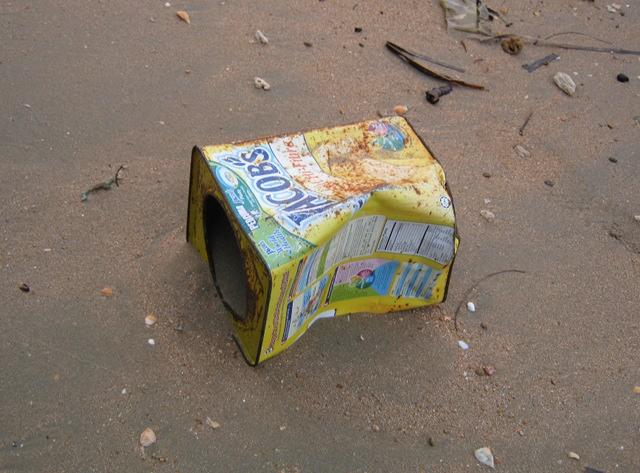 Langkah Syabas Beach Resort flotsam cr Judy Darley