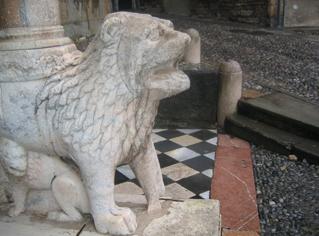 Santa Maria Magiore lion cr Judy Darley