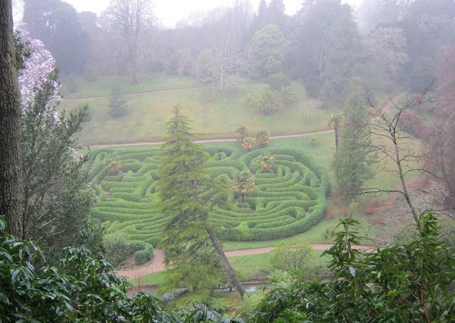 Glendurgan maze cr Judy Darley