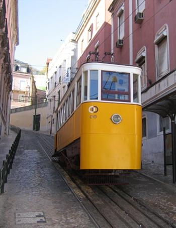 Tram, Lisbon cr Judy Darley