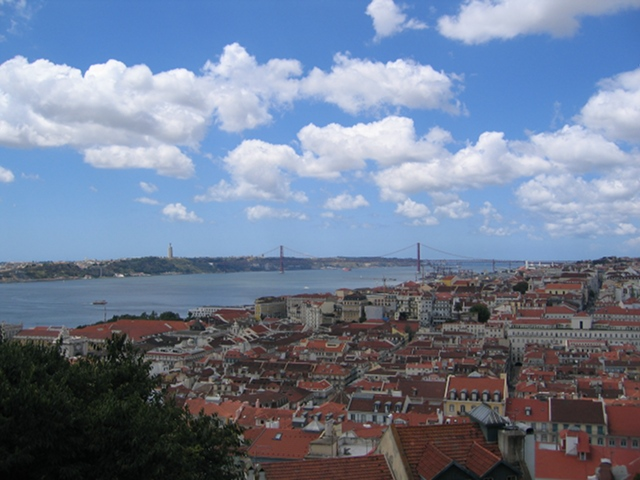 iew of Lisbon from St George's Castle, Lisbon