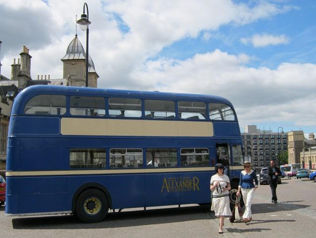 Vintage bus cr Judy Darley