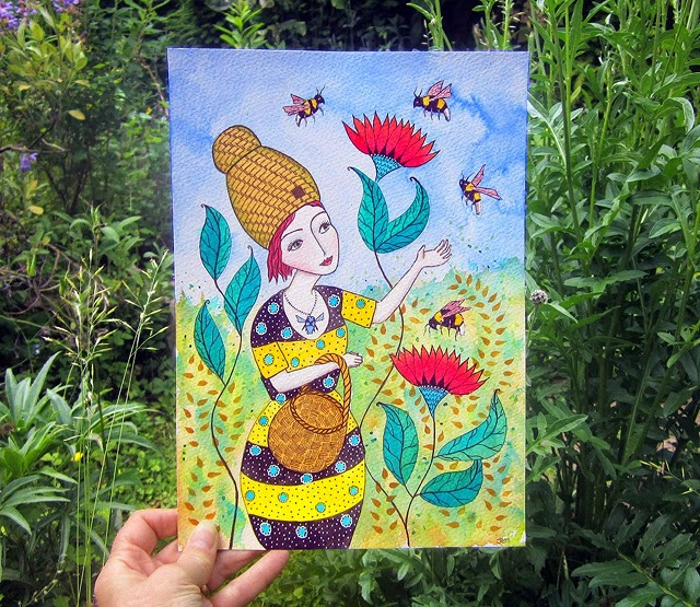 Beatrice and Her Bees cr Jessica Stride