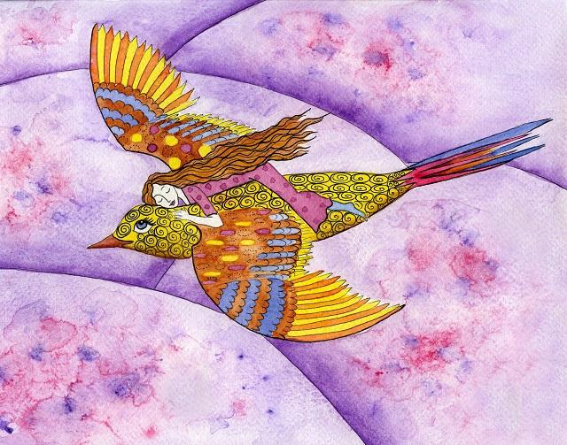 Flying on a Bird cr Jessica Stride