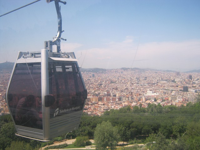 Montjuic cable car cr Judy Darley