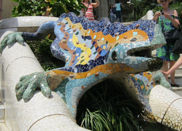 Parc Guell The Dragon cr Judy Darley