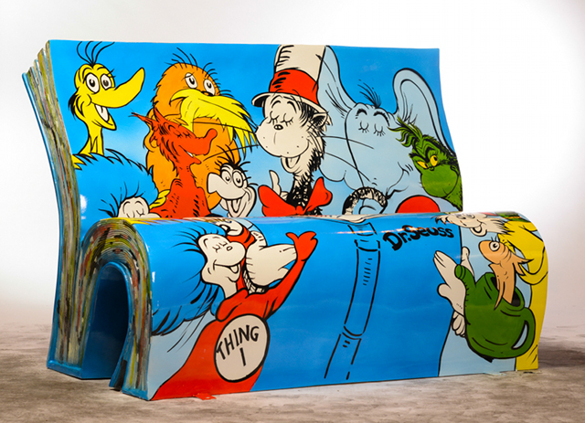 Dr Seuss by artist Jane Headford