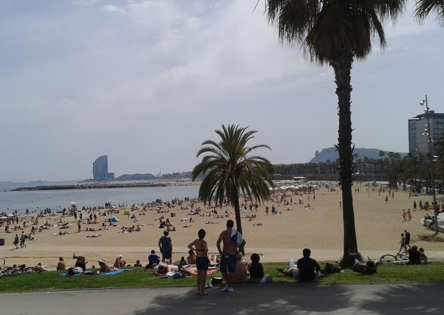 Barcelonetta beach cr Beccy Downes