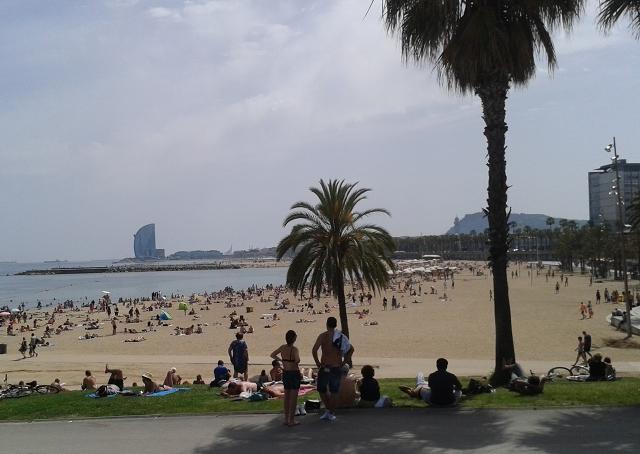 Barcelonetta beach cr Beccy Downes