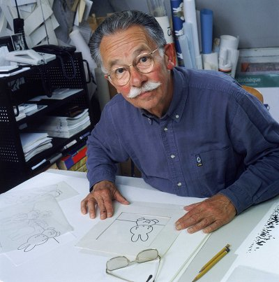 Dick Bruna at work