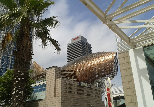 Gehry's Fish  cr Beccy Downes