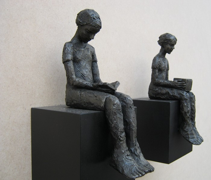 Carol Peace sculptures