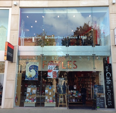 Foyles Bookshop, Bristol cr James Hainsworth