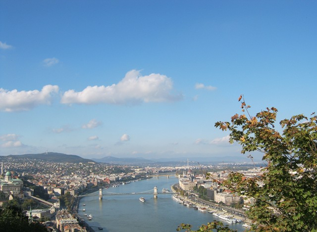 Buda and Pest from Gellert Hill cr Judy Darley