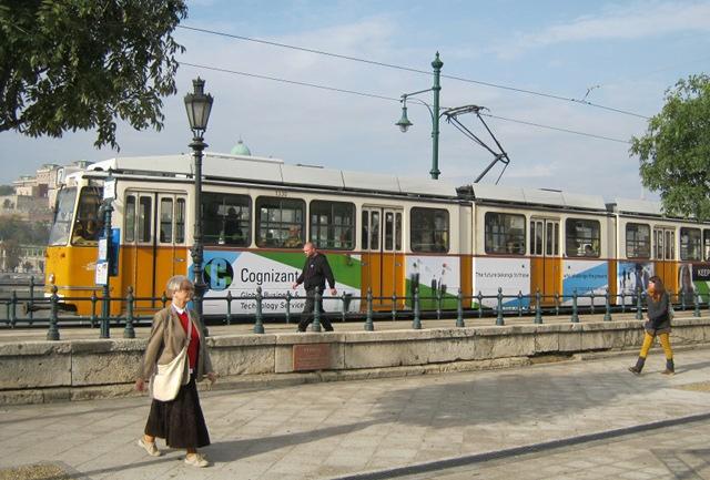 Budapest Tram cr Judy Darley