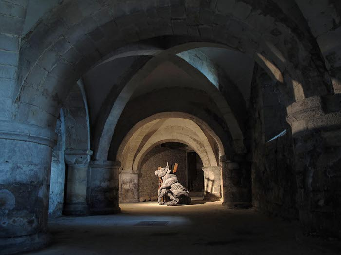 Bull in the crypt cr Dorcas Casey