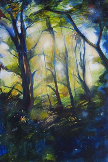 Grunewald Forest Scene 4 by Grace Aza-Selinger