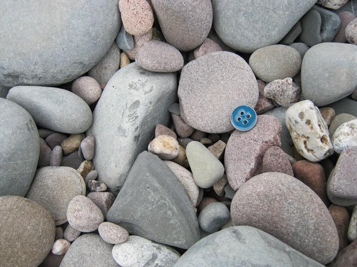Button on Kilve Beach cr Judy Darley