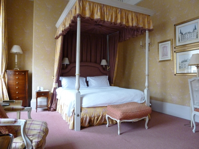 Dukes Hotel four-poster bed by Judy Darley