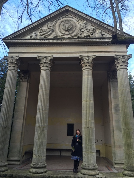 Judy at Minerva's Temple cr James Hainsworth