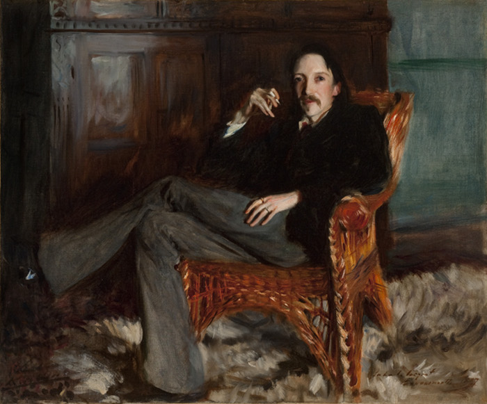 Robert Louis Stevenson by John Singer Sargent, 1887 Courtesy of the Taft Museum of Art, Cincinnati, Ohio