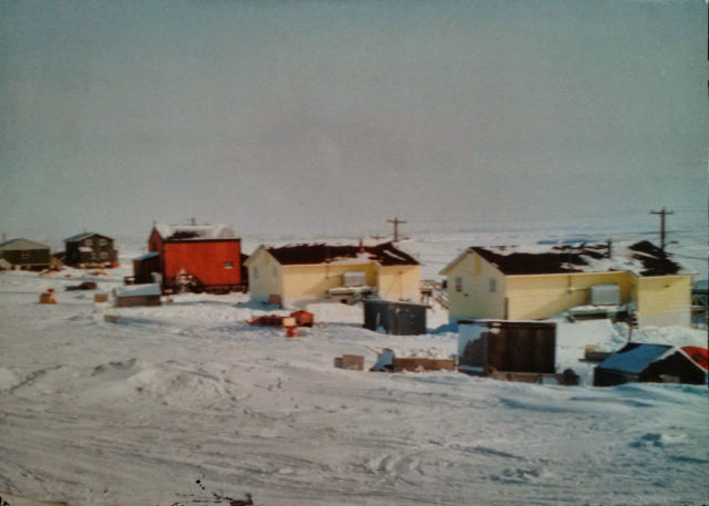 Hamlet of Sachs Harbour, NWT, April 1992