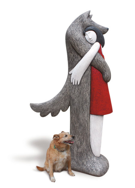 Strange Little Girl cr Paul Smith, and real dog