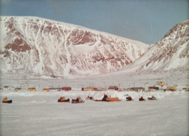 The Hamlet of Grise Fiord, the place that never thaws, on Ellesmere Island, Nunavut, 1976
