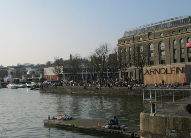 Arnolfini and Bristol Harbour cr Judy Darley