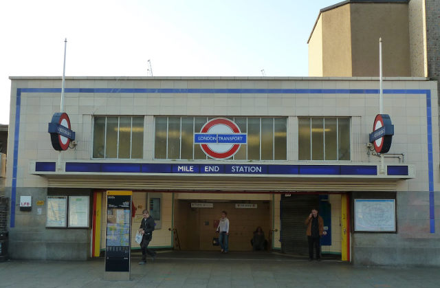 Mile End Tube station cr Tom Green