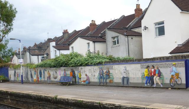 Easton, Stapleton Road Mural cr Judy Darley