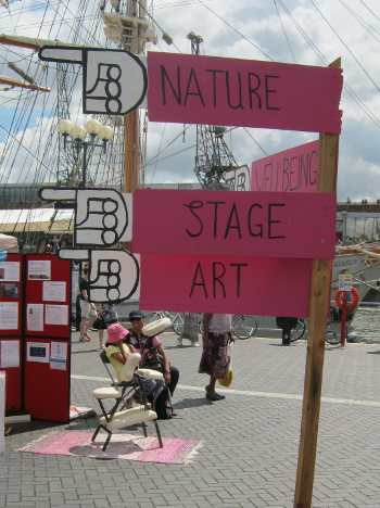 Harbour Festival sign cr Judy Darley
