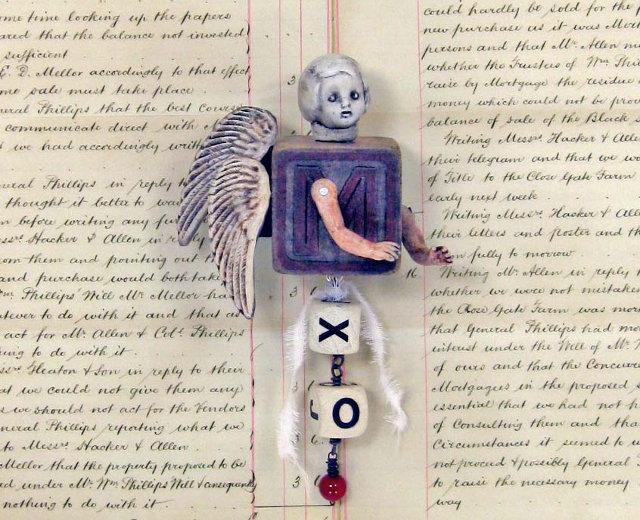 two winged angel by Carla Trujillo