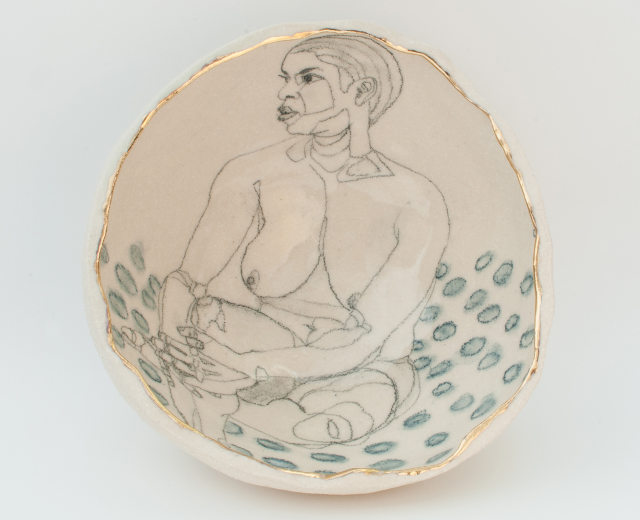 yurim-gough-korean-ceramic-artist-sitting-on-the-dots-top-view