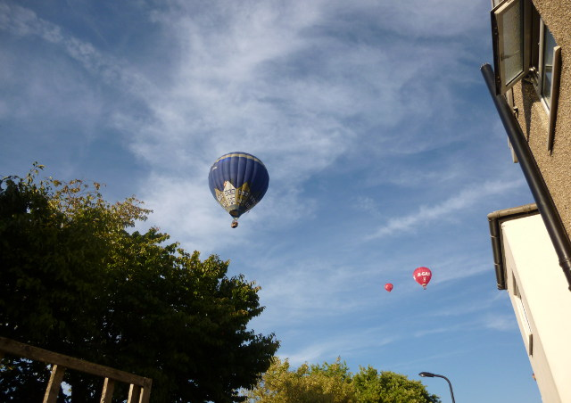 Balloons over Totterdown cr Judy Darley
