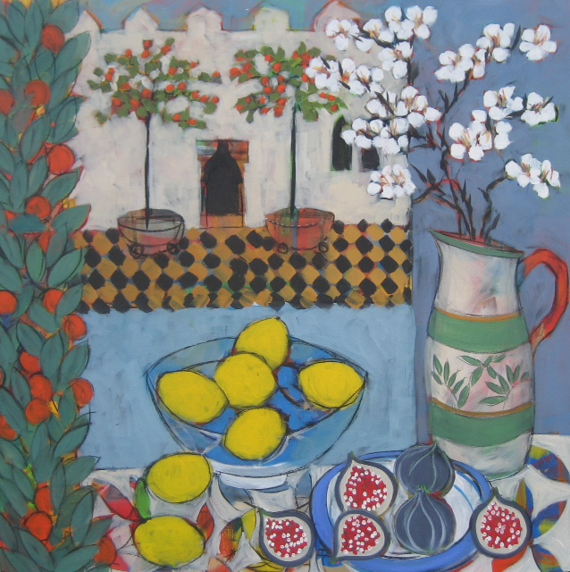 Still Life With Almond Blossom cr Christine Relton and Tom Marine